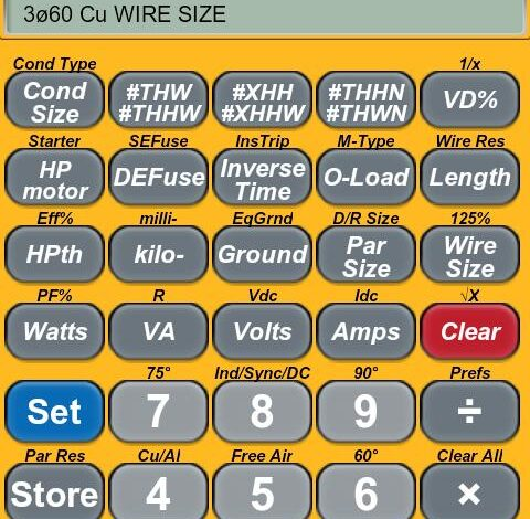 ElectriCalc Pro Calculator