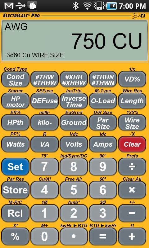 ElectriCalc Pro Calculator
