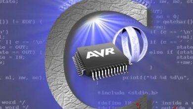 تصویر از برنامه نویسی میکروکنترلرهای AVR با کامپایلر CodeVisionAVR