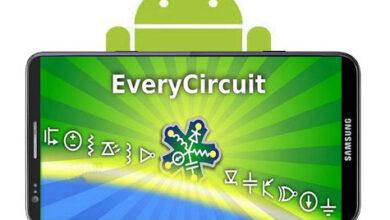تصویر از EveryCircuit – نرم افزار موبایل شبیه ساز مدار الکترونیکی