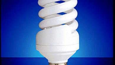 تعمیر لامپ کم مصرف