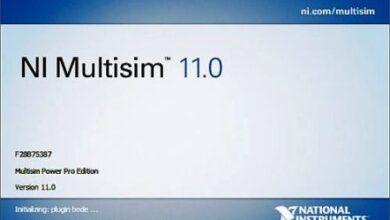 تصویر از آموزش کار با نرم افزار Multisim – مولتی سیم