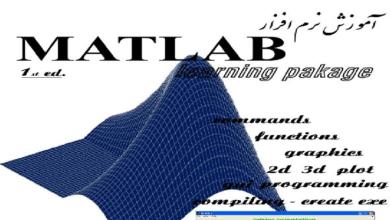تصویر از جزوه آموزش نرم افزار MATLAB