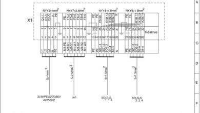 طراحی ها و نقشه های صنعتی برای راه اندازی موتورهای الکتریکی
