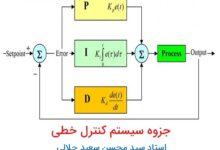 جزوه درس سیستم های کنترل خطی مهندس جلالی