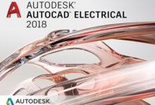 اتوکد الکتریکال طراحی مدارهای الکتریکی Autodesk AutoCAD Electrical 2018