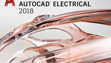 تصویر از اتوکد الکتریکال طراحی مدارهای الکتریکی Autodesk AutoCAD Electrical 2018