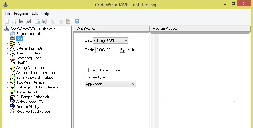 CodeVision AVR Advanced