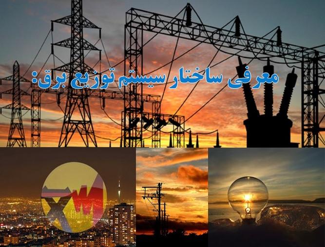 پاورپوینت معرفی ساختار سیستم توزیع برق