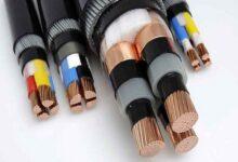 تصویر از کابل های قدرت