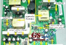 تصویر از کتاب آموزش تعمیر بردهای الکترونیک و عیب یابی قطعات الکترونیکی